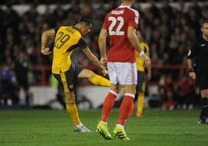 nottingham forest v arsenal efl cup third round