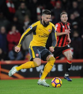 olivier giroud arsenal afc bournemouth 33