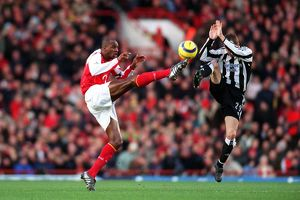 Patrick Vieira (Arsenal) Lee Bowyer (Newcastle)