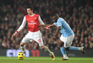 robin van persie arsenal micah richards man city