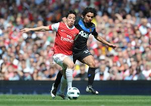 samir nasri arsenal fabio man united