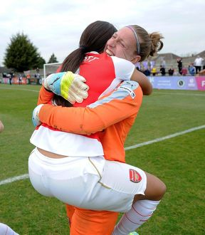 sari van veenendaal and alex scott arsenal