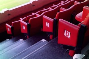 Seats in the Directors Box in the East Stand