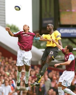 sol campbell arsenal anton ferdinand west ham