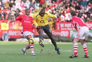 sol campbell arsenal shaun bartlett charlton
