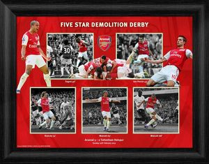 five star demolition derby arsenal v spurs 2012