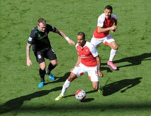 theo walcott and alexis sanchez arsenal glen whelan