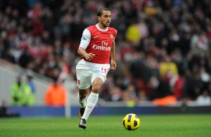 Theo Walcott (Arsenal). Arsenal 3:0 Wigan Athletic. Barclays Premier League