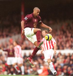 Thierry Henry (Arsenal). Arsenal 3:1 Sunderland. FA Premier League