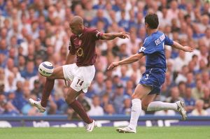 Thierry Henry (Arsenal) Asier Del Horno (Chelsea). Chelsea 1:0 Arsenal