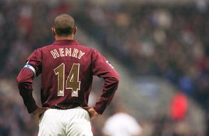 Thierry Henry (Arsenal). Bolton Wanderers 2:0 Arsenal. FA Premiership
