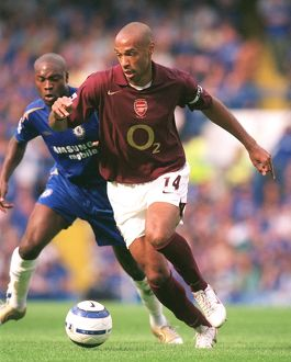 Thierry Henry (Arsenal). Chelsea 1:0 Arsenal. FA Premier League