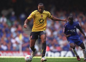 Thierry Henry (Arsenal) Claude Makelele (Chelsea). Arsenal 1:2 Chelsea
