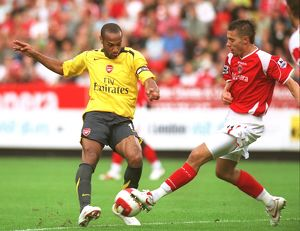 Thierry Henry (Arsenal) Darren Ambrose (Charlton Athletic)