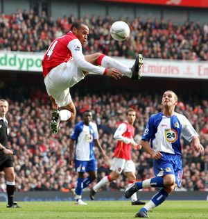 Thierry Henry (Arsenal) David Bentley (Blackburn)