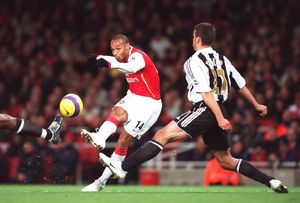 Thierry Henry (Arsenal) Steven Taylor (Newcastle)
