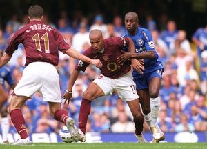 Thierry Henry (Arsenal) William Gallas (Chelsea). Chelsea 1:0 Arsenal