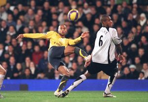 Thierry Henry (Arsenal) Zat Knight (Fulham)