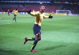 Thierry Henry's 1st goal of the match