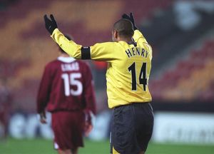 Thierry Henry's 2nd goal of the match
