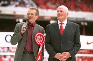 Tom Watt and Henry Cooper during the Final Salute Ceremony