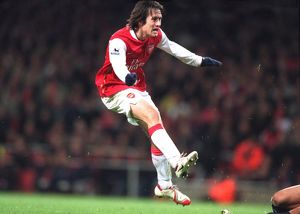 Tomas Rosicky scores Arsenal's 3rd goal