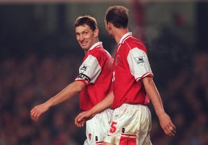 tony adams and steve bould arsenal