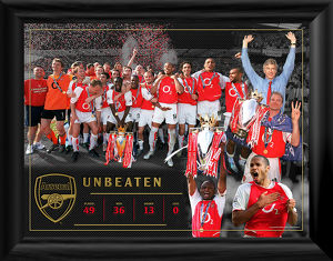 unbeaten montage framed photographic print