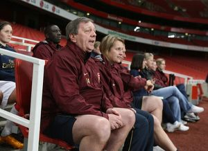 vic akers arsenal ladies manager