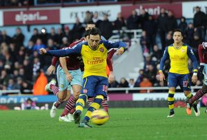 west ham united v arsenal premier league
