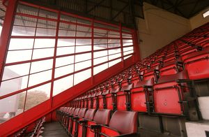 West Stand. Arsenal Stadium, Highbury, London, 10/11/05