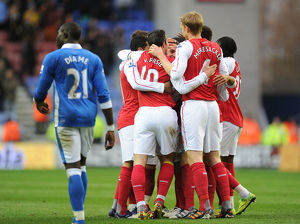 wigan athletic v arsenal premier league
