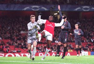 William Gallas (Arsenal) Igor Akinfeev (CSKA)