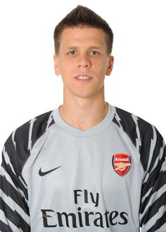 Wojciech Szczesny (Arsenal). Arsenal 1st team Photocall and Membersday