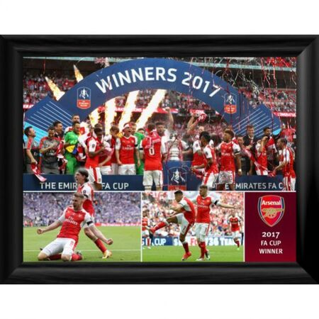 2017 fa cup winners framed print