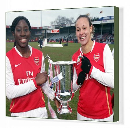 anita asante lianne sanderson arsenal league
