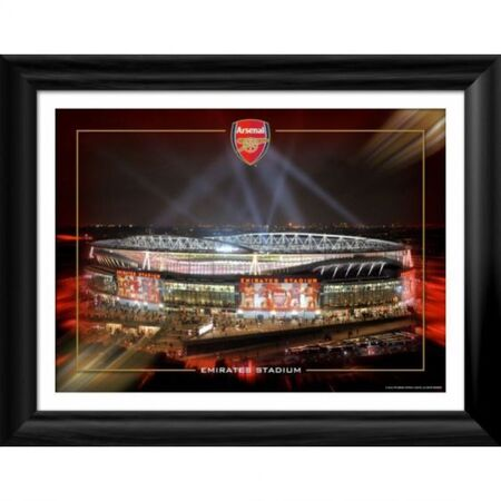 emirates night framed photographic print