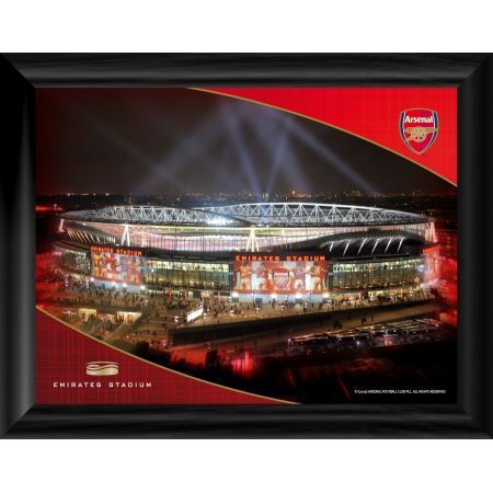 emirates night desktop framed print
