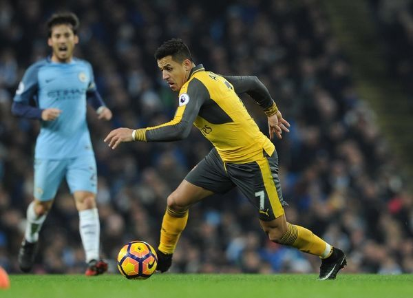 alexis sanchez arsenal manchester city 21 arsenal
