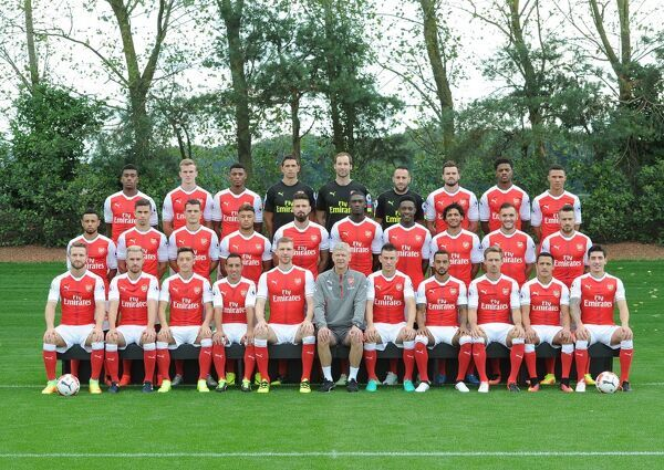 arsenal 1st team squadseason 2016 17