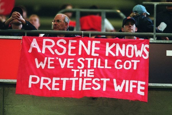 arsenal banner arsneal 10 southampton the f