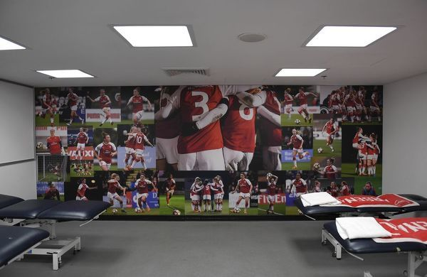 arsenal changingroom arsenal women 13 chelsea