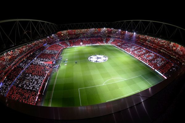 arsenal fc v fc barcelona uefa champions league round 16