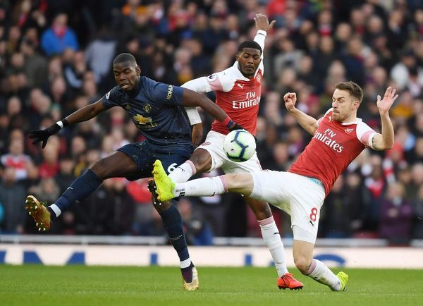arsenal fc v manchester united premier league