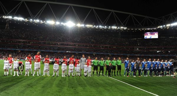 Arsenal FC v Olympiacos FC - UEFA Champions League