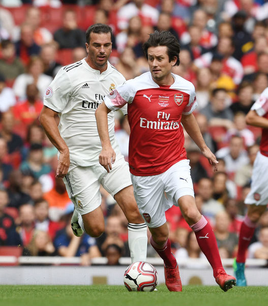 arsenal legends v real madrid legends