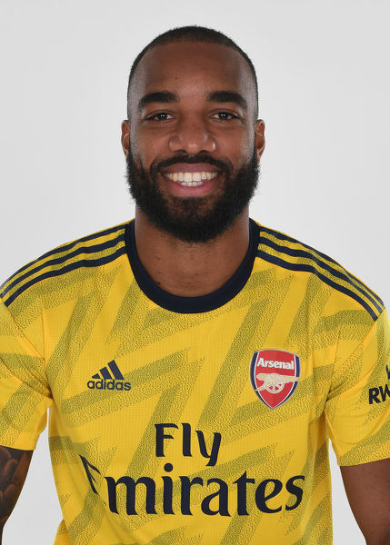 ST ALBANS, ENGLAND - AUGUST 07: Alex Lacazette of Arsenal at London Colney on August 07, 2019 in St Albans, England. (Photo by Stuart MacFarlane/Arsenal FC via Getty Images)