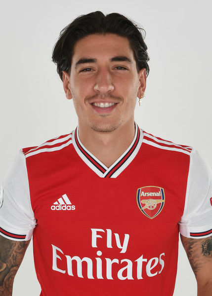 ST ALBANS, ENGLAND - AUGUST 07: Hector Bellerin of Arsenal at London Colney on August 07, 2019 in St Albans, England. (Photo by Stuart MacFarlane/Arsenal FC via Getty Images)
