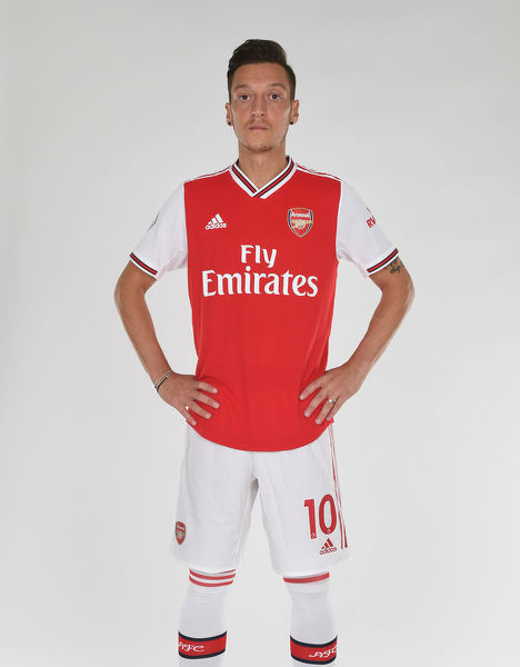 ST ALBANS, ENGLAND - AUGUST 07: Mesut Ozil of Arsenal at London Colney on August 07, 2019 in St Albans, England. (Photo by Stuart MacFarlane/Arsenal FC via Getty Images)