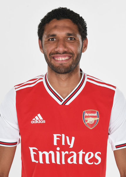 ST ALBANS, ENGLAND - AUGUST 07: Mo Elneny of Arsenal at London Colney on August 07, 2019 in St Albans, England. (Photo by Stuart MacFarlane/Arsenal FC via Getty Images)